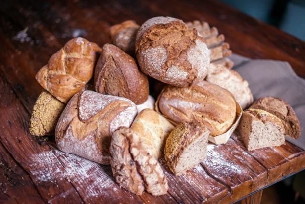 Distintos panes de Levadura Madre